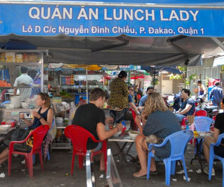 Lunch Lady, Saigón, Vietnam.