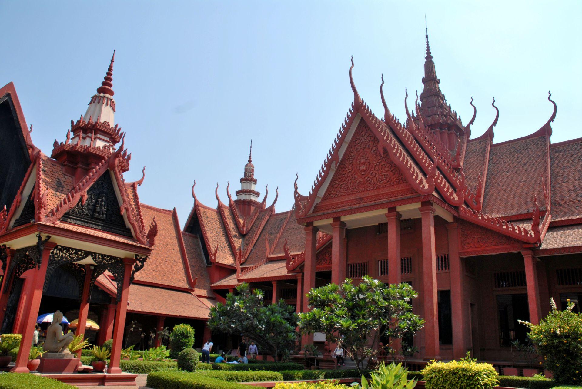 Museo Nacional, Phnom Penh, Camboya.