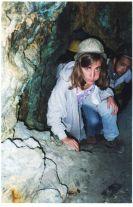 Mascando coca para no apunarme, en la Mina Cooperativa, Potosí, Bolivia. Enero 1994.