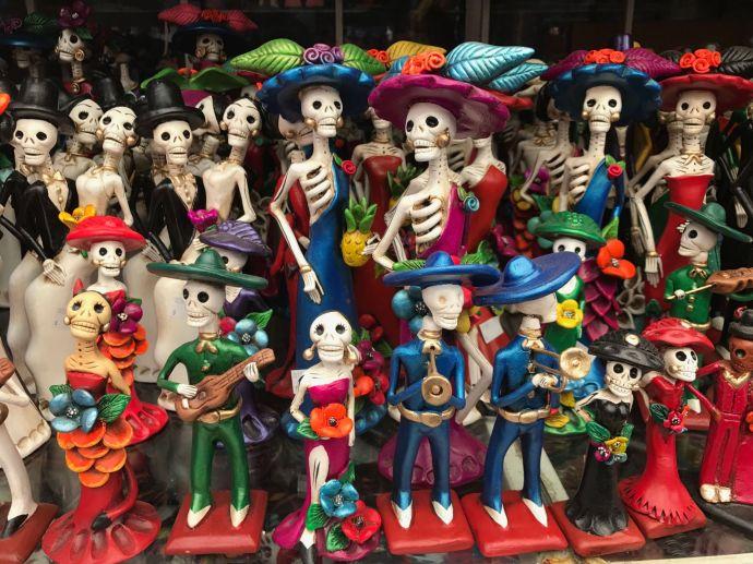 Catrinas mexicanas.