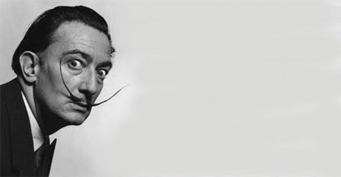 Salvador Dalí, pintor surrealista.