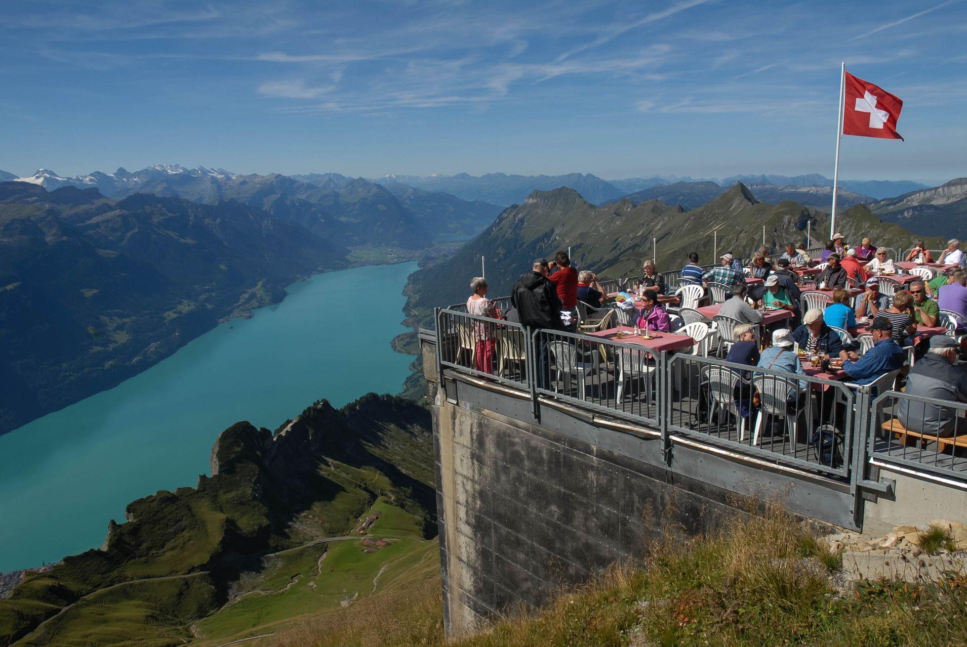 Lago Brienz, Suiza.