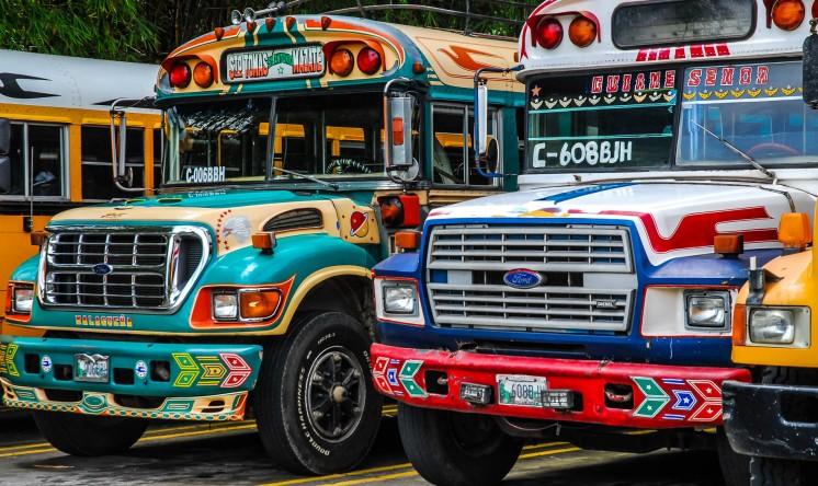 Resultado de imagen para transporte colectivo guatemala