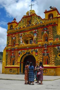 San Andrés Xecul, Guatemala.