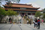 El monasterio Po Lin es el más importante de Hong Kong.