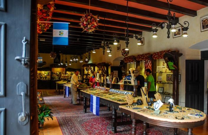 Tienda del Museo del Jade, La Antigua Guatemala.