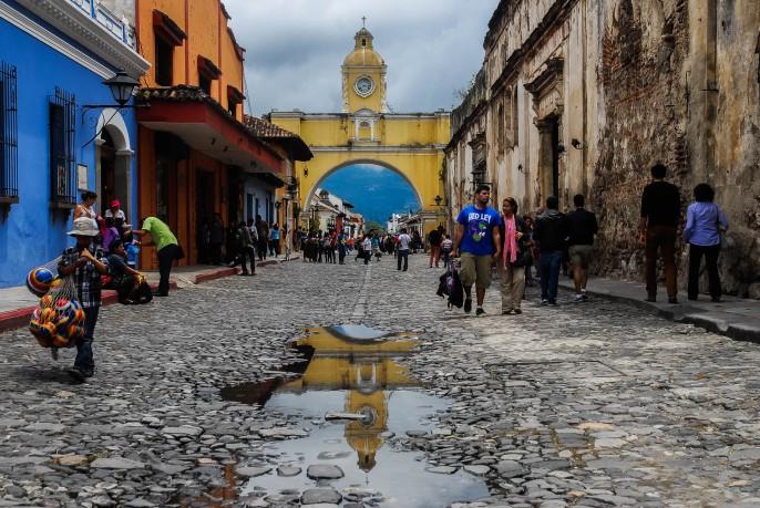 Calle del Arco, La Antigua Guatemala.