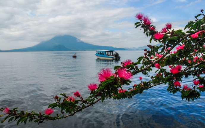 Lago Atitlán, Guatemala.
