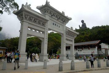 Gran Buda (Tian Tan) de la isla de Lantau, Hong Kong.