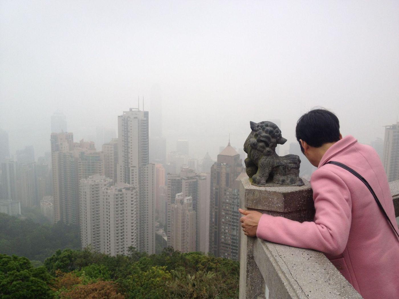 Victoria Peak, Hong Kong.