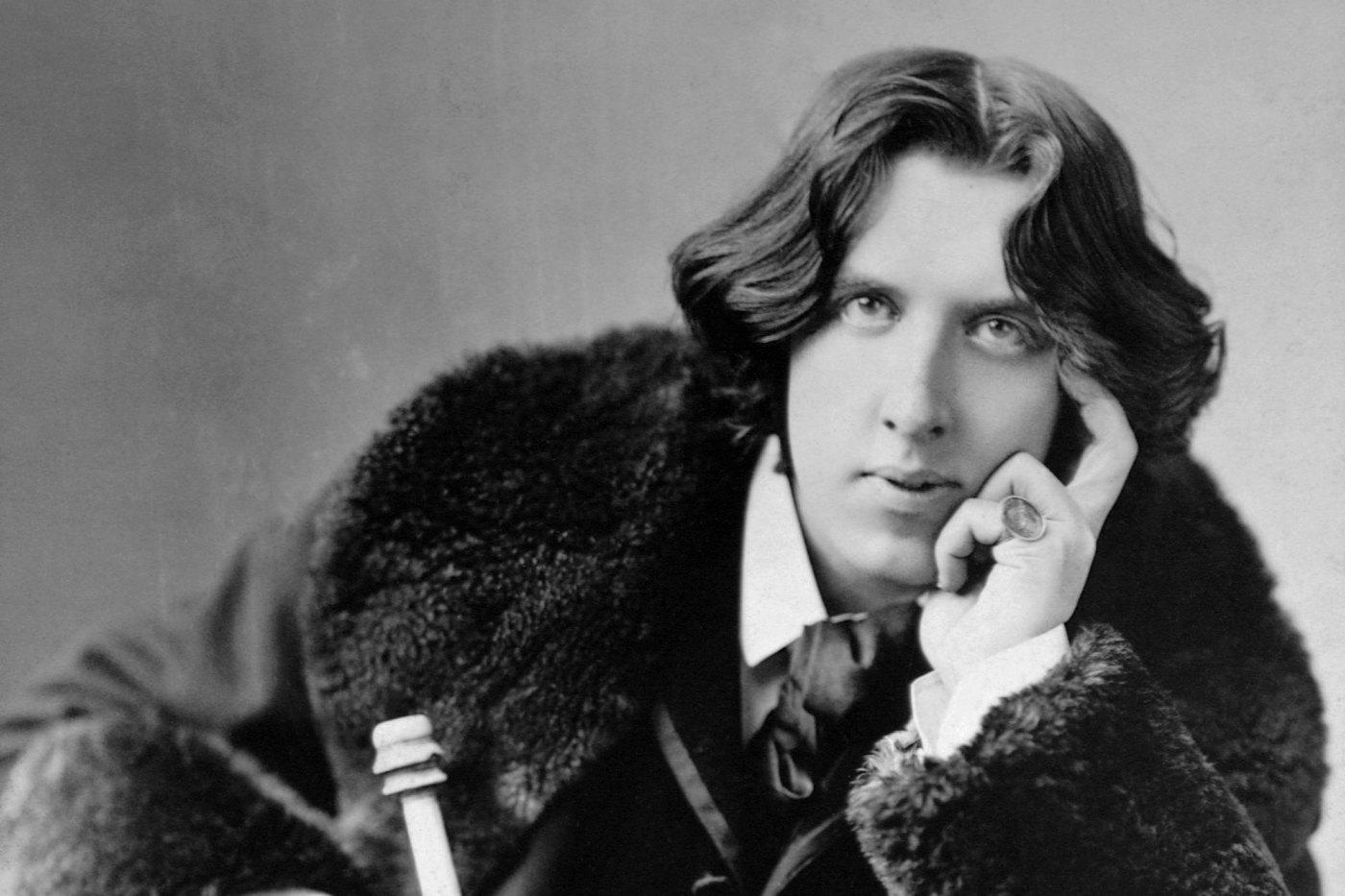 Oscar Wilde, escritor.