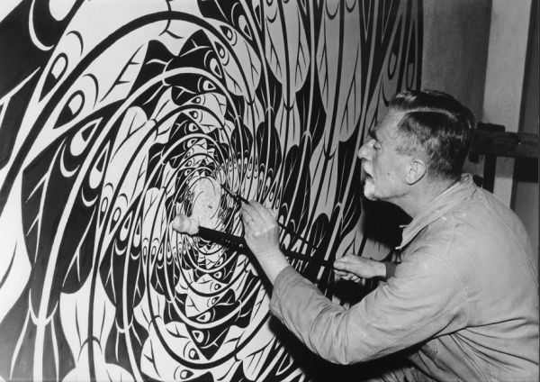 El artista gráfico Maurits Escher.