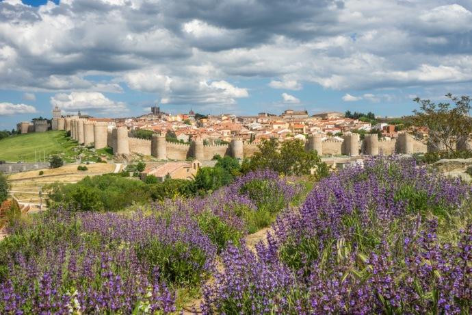 La ciudad amurallada de Ávila, España. Foto: Vivian Bibliowicz