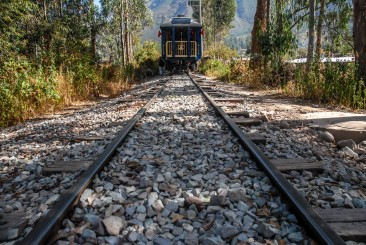 Tren Hiram Bingham, Perú.
