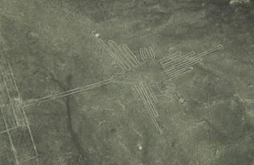 El colibrí, Líneas de Nazca, Perú.
