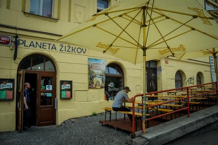 Žižkov, en Praga 3.