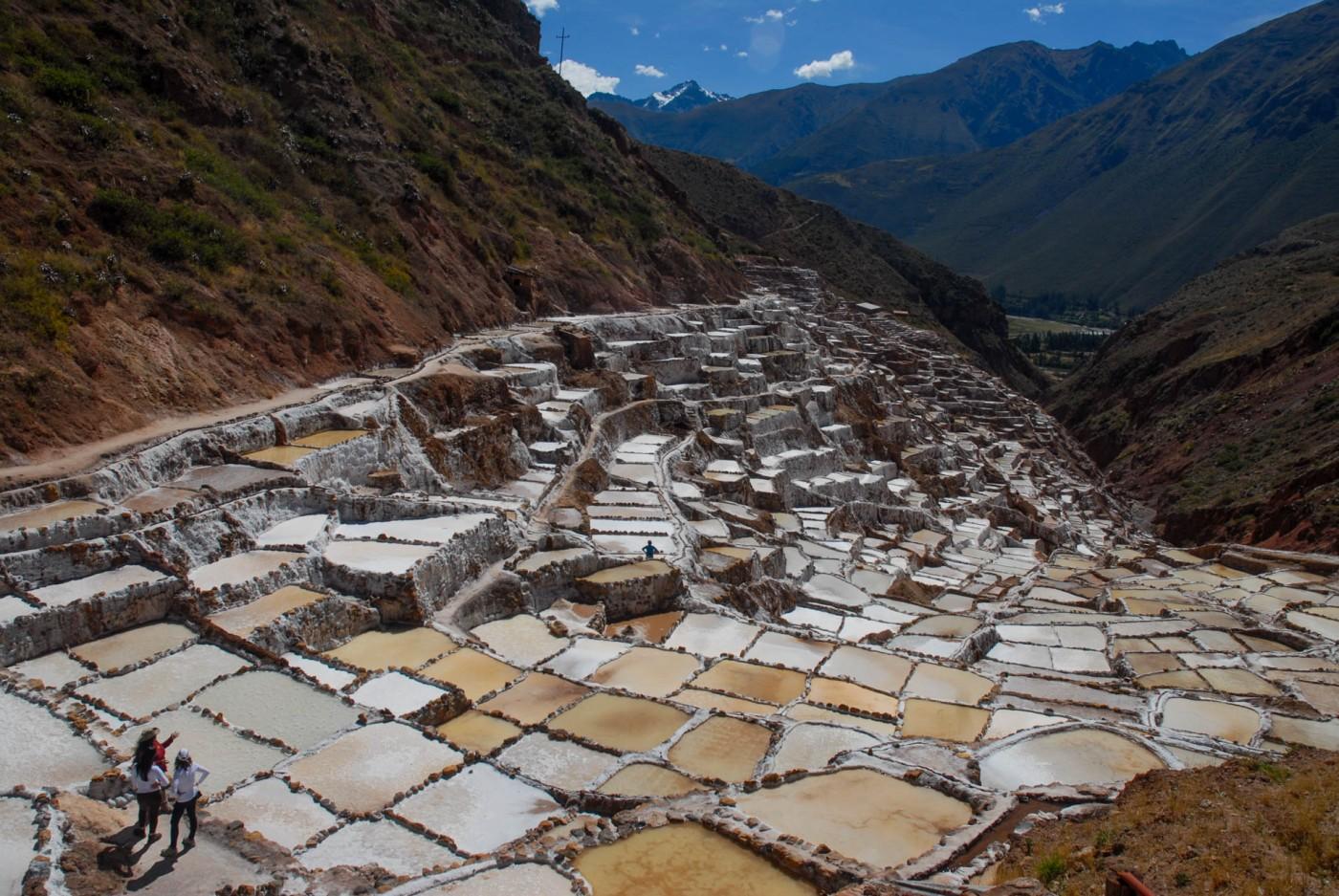 Salinas de Maras, Perú.