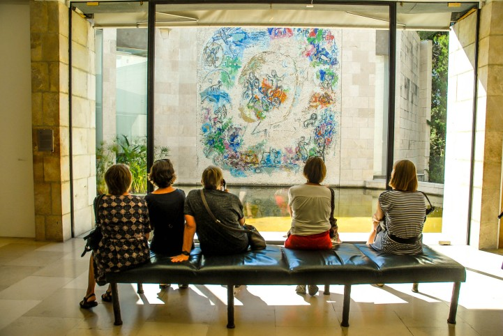 Museo Nacional Marc Chagall en Nice, Francia.