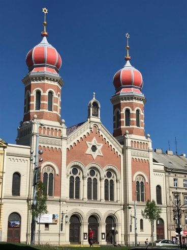Gran Sinagoga de Pilsen, Chequia.