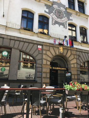 U Salzmannů, la primera cervecería de Pilsen, Chequia.