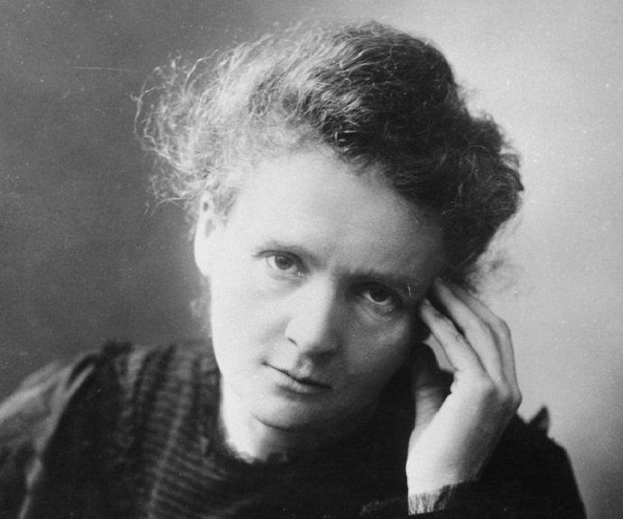 La científica Marie Curie.