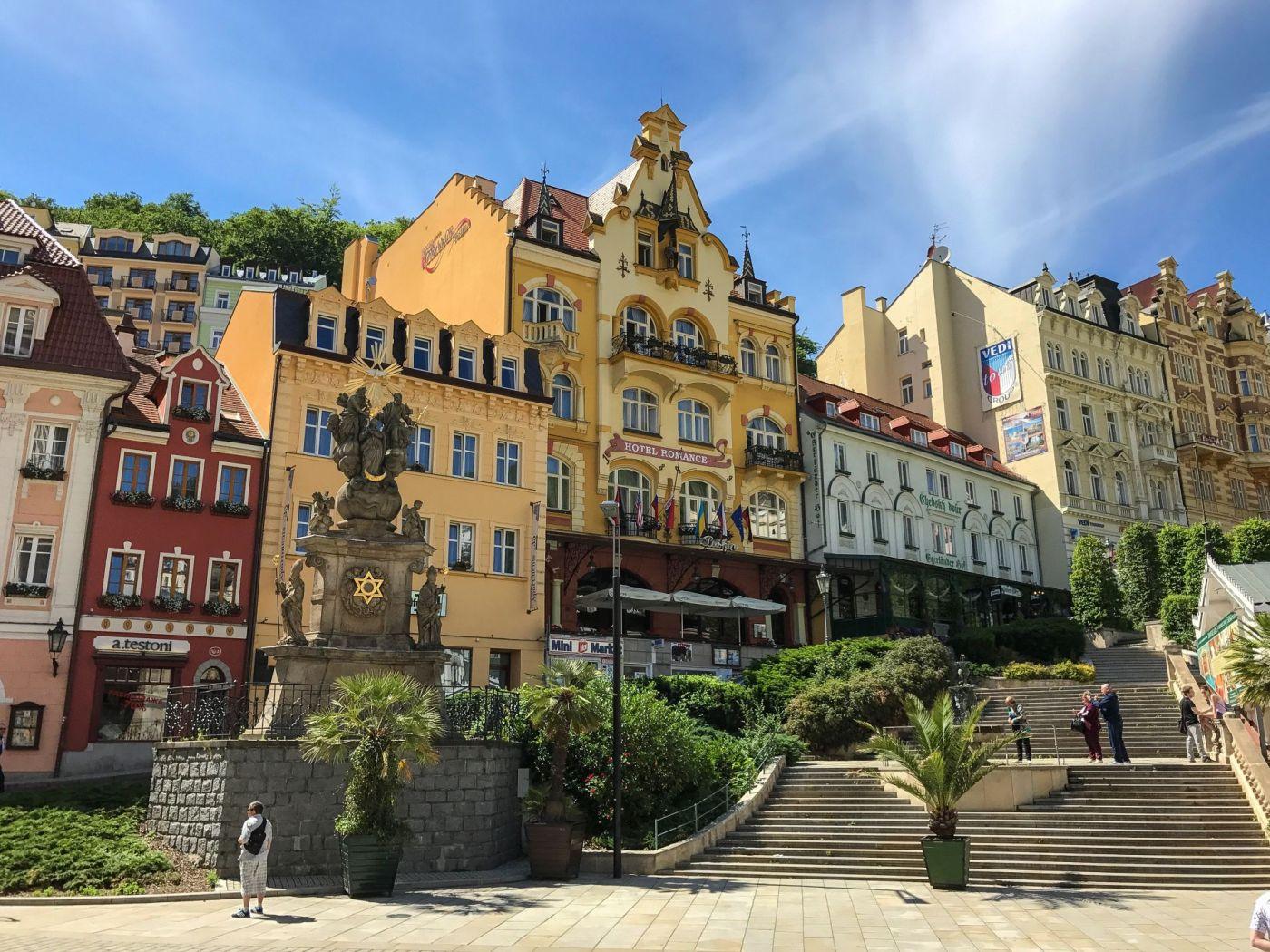 Karlovy Vary, Chequia.
