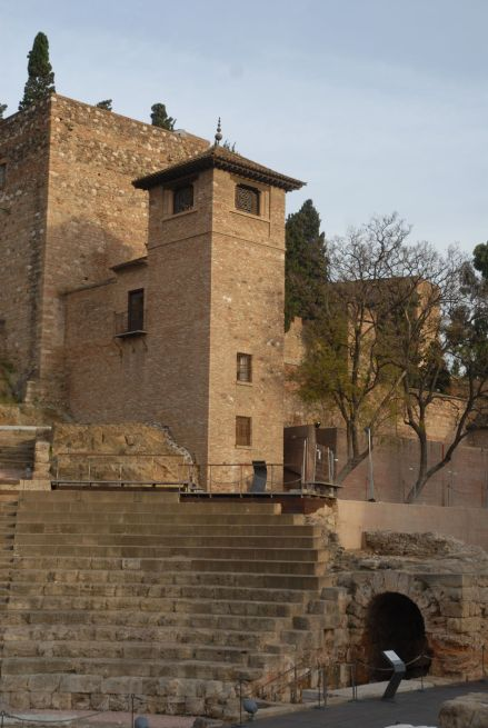 La Alcazaba de Málaga.