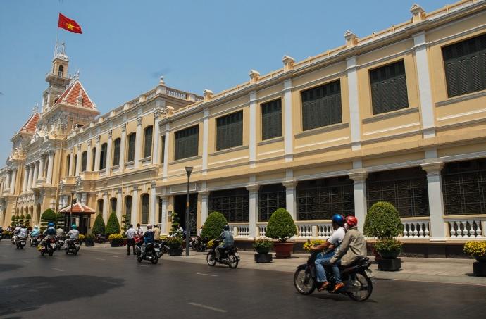 Ayuntamiento de Ciudad Ho Chi Minh (Saigón).