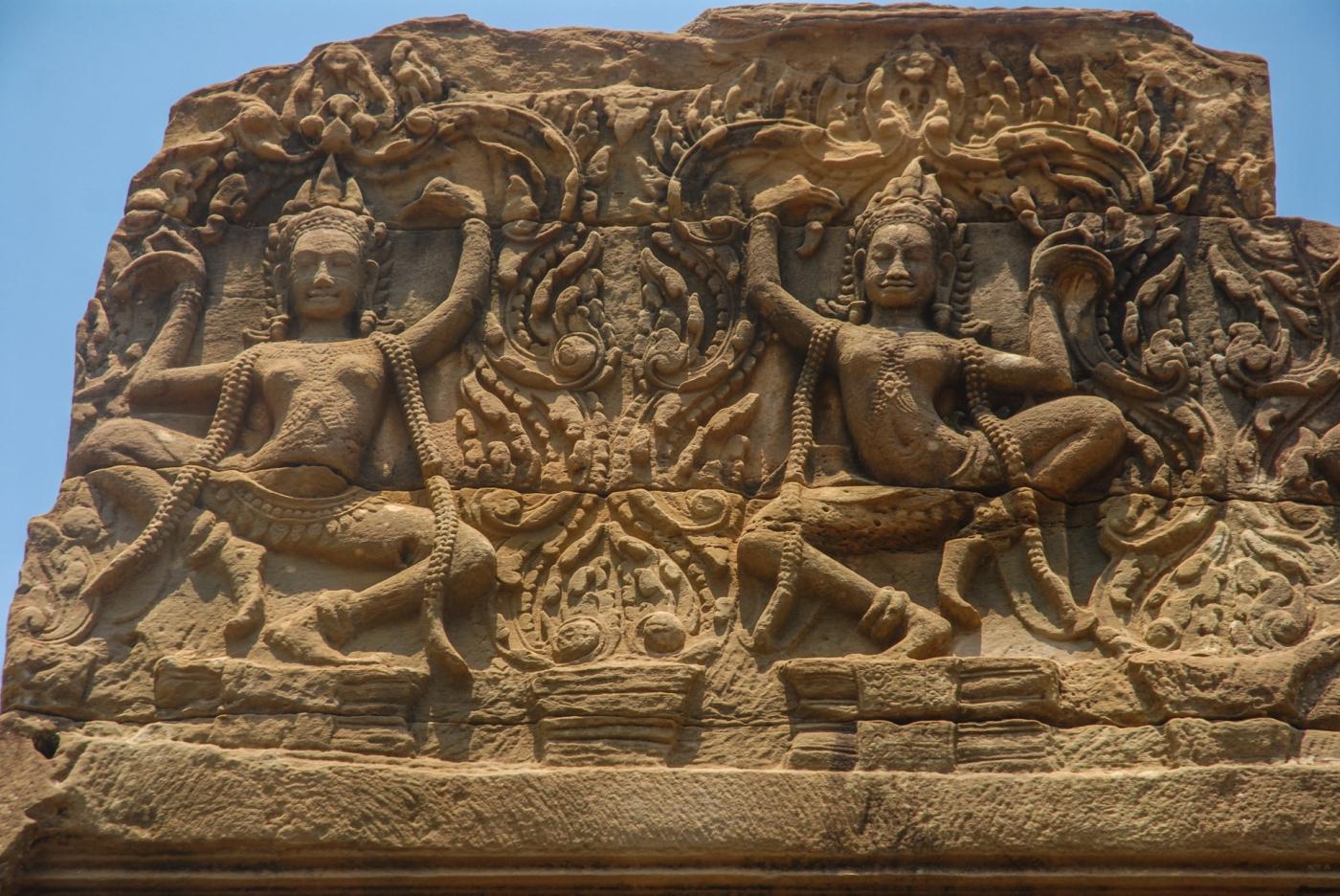 Angkor Thom, Camboya.