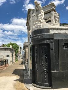 Cementerio de la Recoleta.