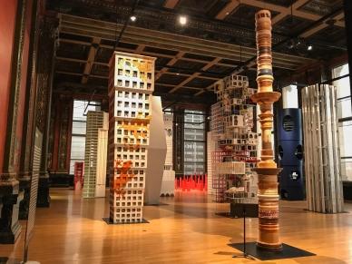 Vertical City, Chicago Architecture Biennial en el Centro Cultural de Chicago.
