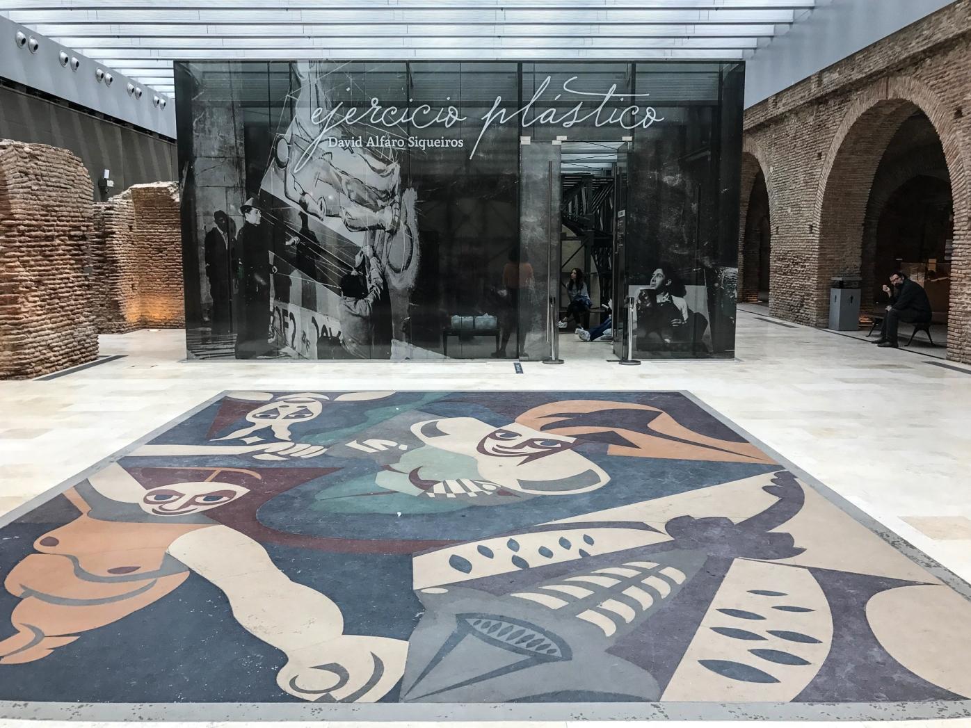 Ejercicio pl stico un mural de siqueiros oculto en for El mural de siqueiros en argentina