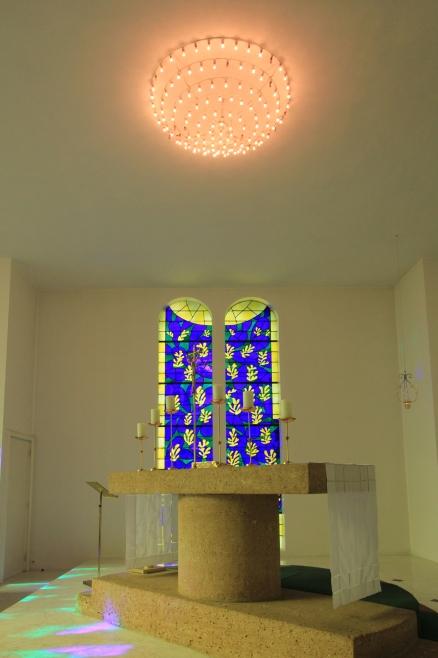 Capilla del Rosario, diseñada por Henri Matisse en Vence, Francia. Foto: Cortesía Chapelle du Rosaire.