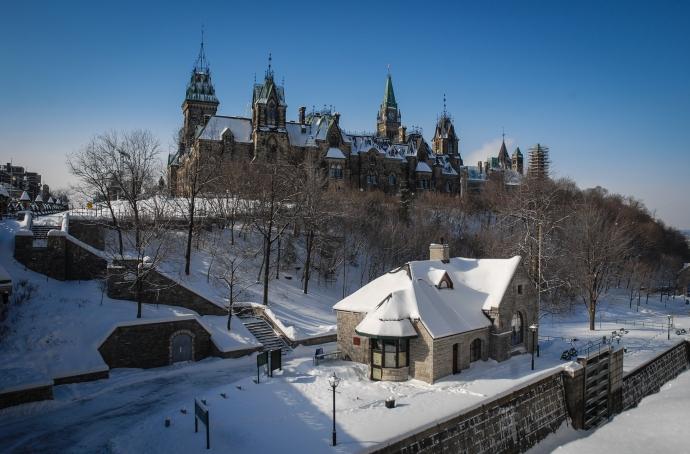 Parliament Hill, Ottawa, Ontario, Canadá.