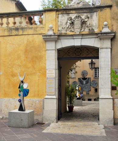 Museo Nacional Pablo Picasso Guerra y Paz, Vallauris, Francia.