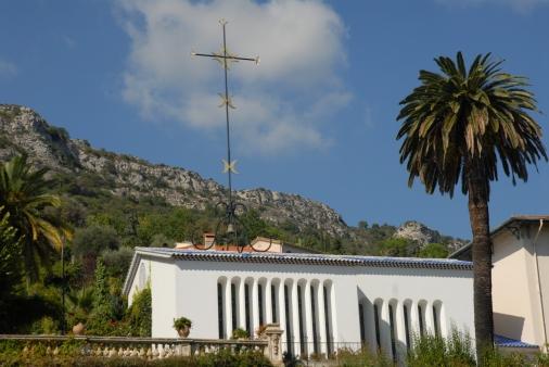 Capilla del Rosario, diseñada por Henri Matisse en Vence, Francia.