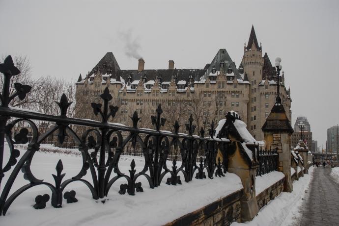 Hotel Fairmont Château Laurier de Ottawa, Canadá.