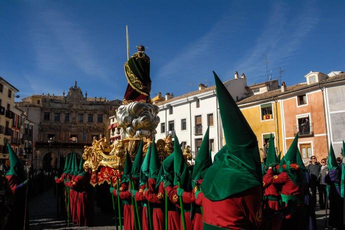 Viernes Santo en Cuenca, España.