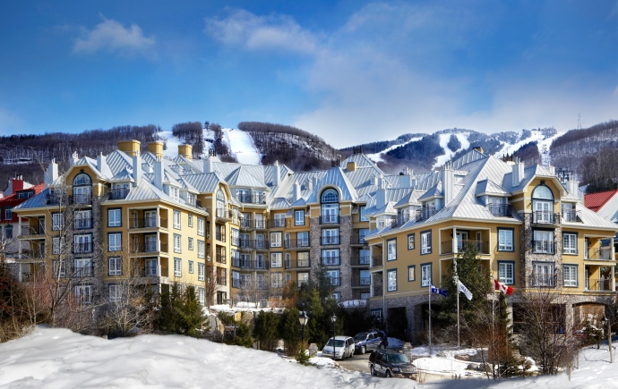 Hotel Westin Resort & Spa de Mont-Tremblant, Quebec, Canadá. Foto: cortesía Westin Resort & Spa