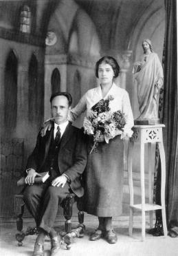 Edward Weston y Tina Modotti.