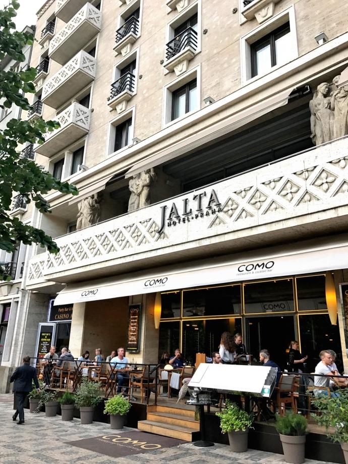 Hotel Boutique Jalta, Praga.