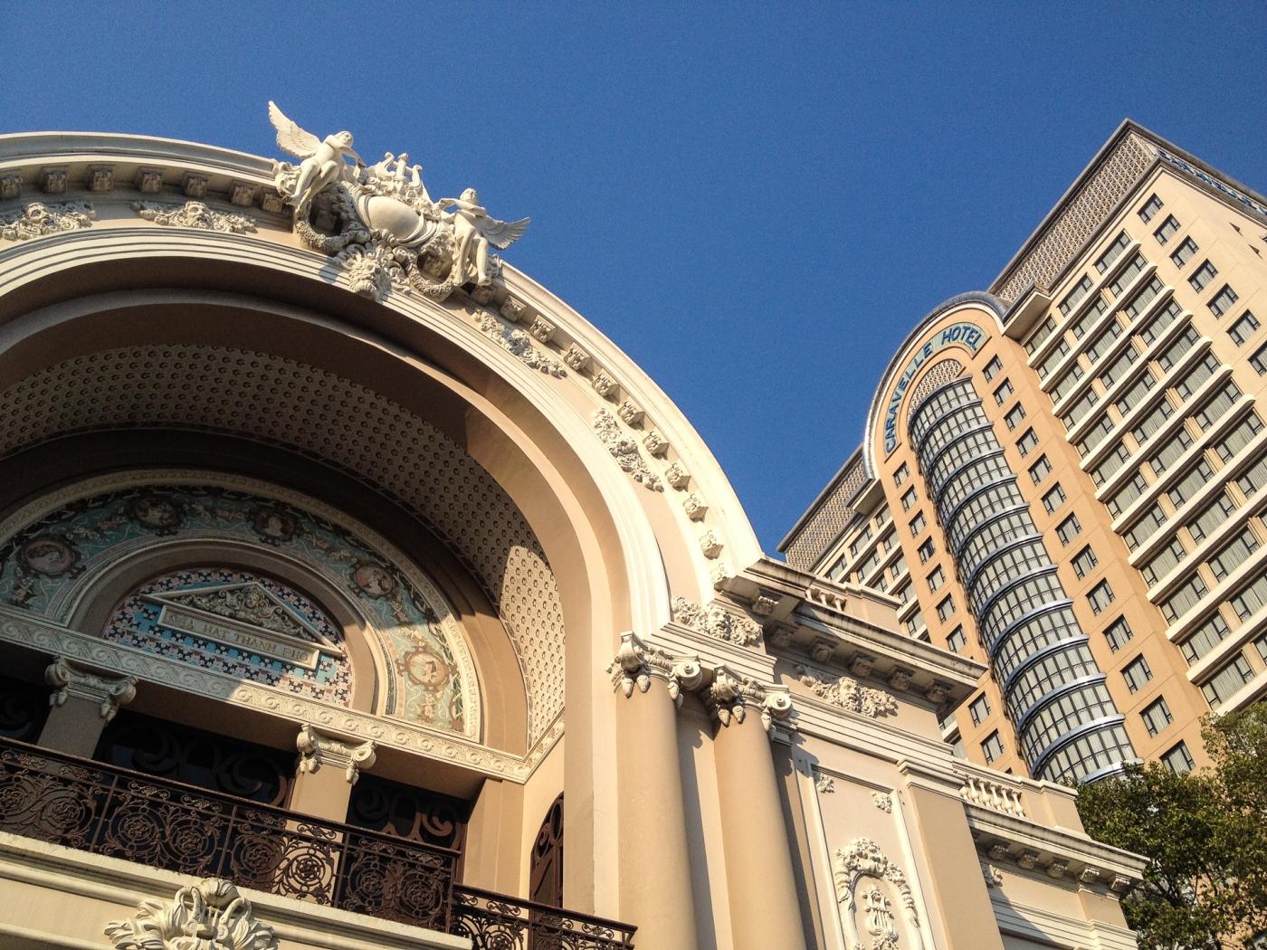 Teatro de la Ópera, Saigón, Vietnam.