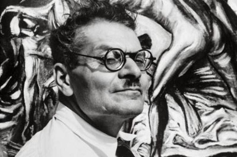 José Clemente Orozco, muralista mexicano.