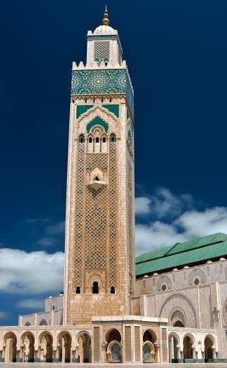 Mezquita de Tánger, Marruecos.