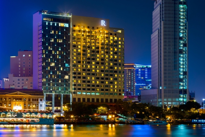Renaissance Riverside Hotel Saigon. Fotos: Cortesía Marriot International