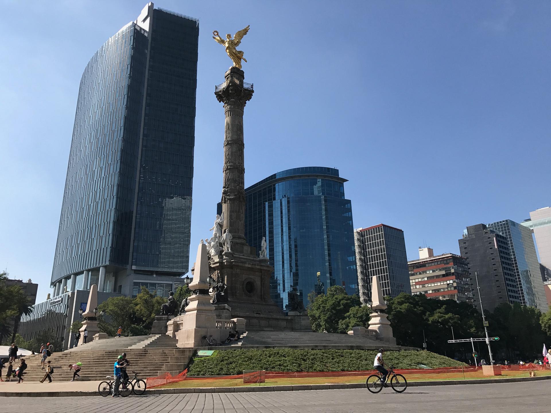 Ángel de la Independencia de la Ciudad de México.