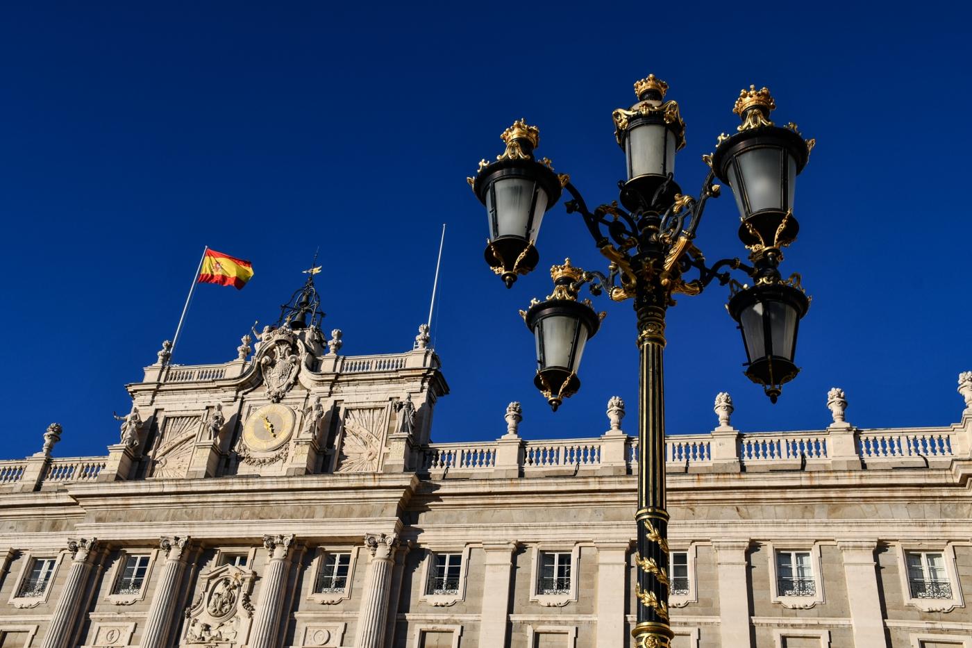 Palacio Real de Madrid, España.