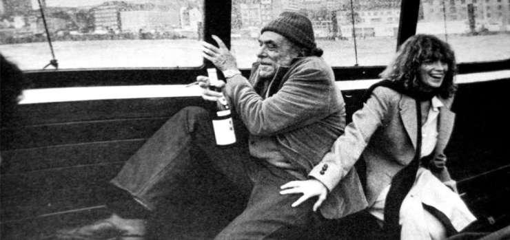 Charles Bukowski y Linda Lee Beighle en Hamburgo, 1978.