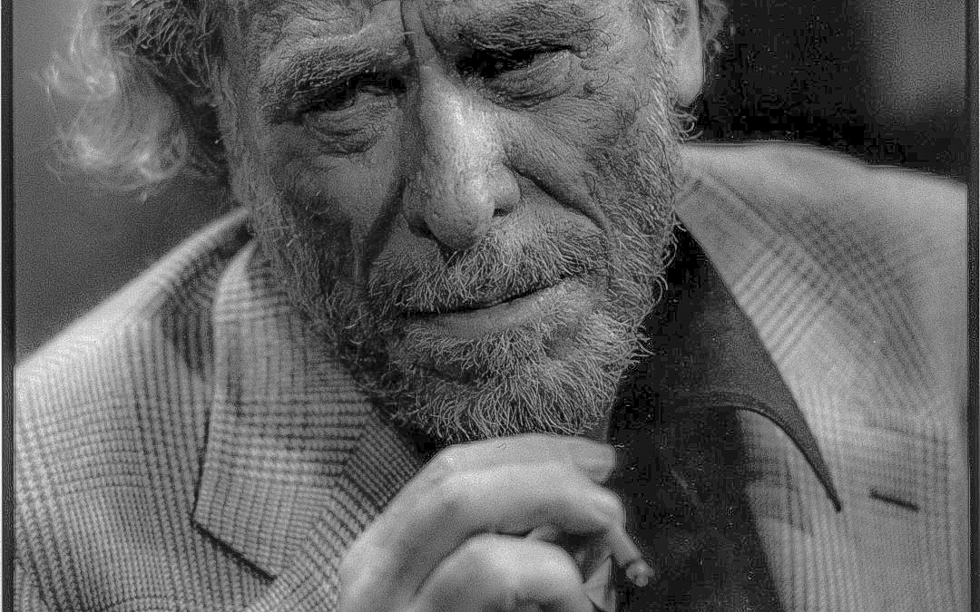 El escritor Charles Bukowski.