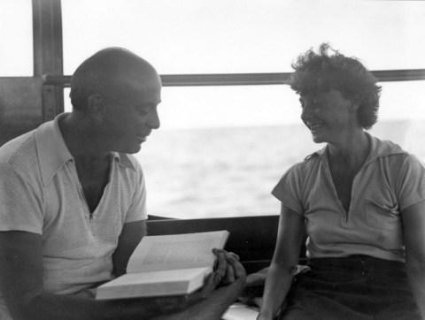 John Dos Passos y Katherine Smith.